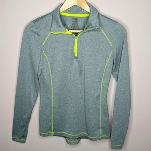 Danskin Now Semi-Fitted Pullover Athletic Jacket